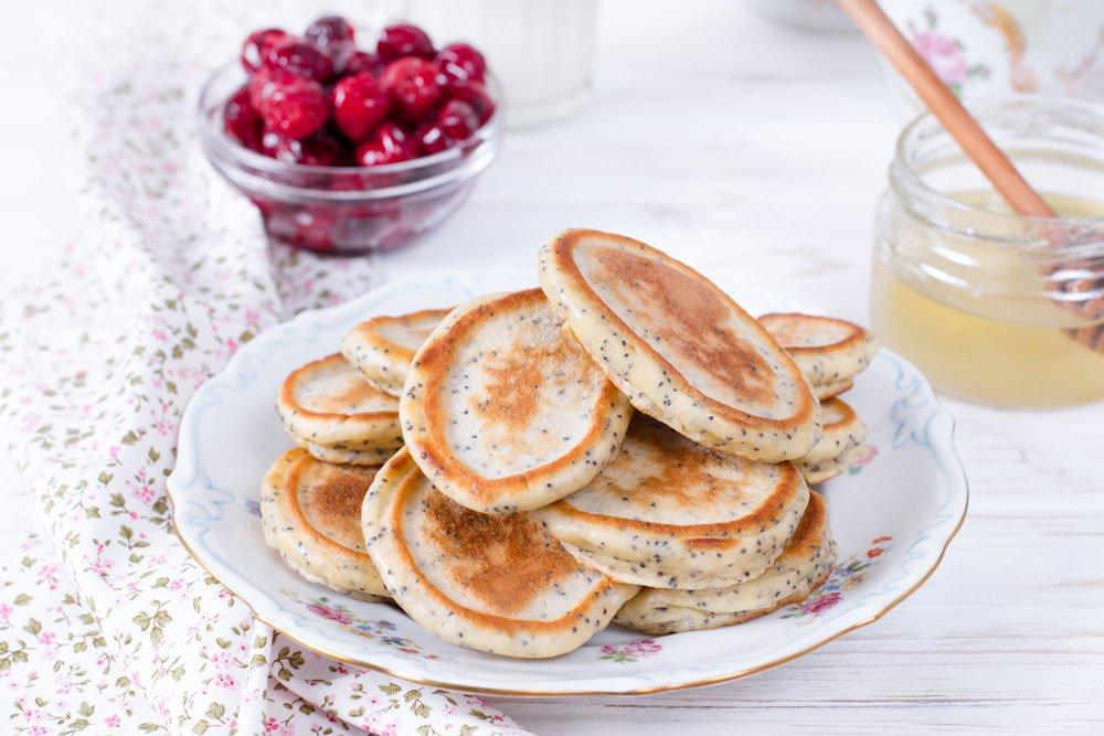 Vegane Chiasamen-Pancakes
