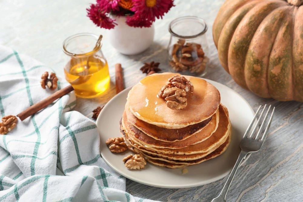 Vegane Walnuss-Pancakes