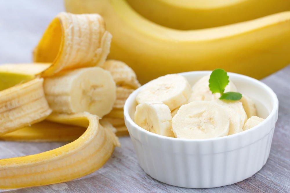 Warzen entfernen - Bananenschale