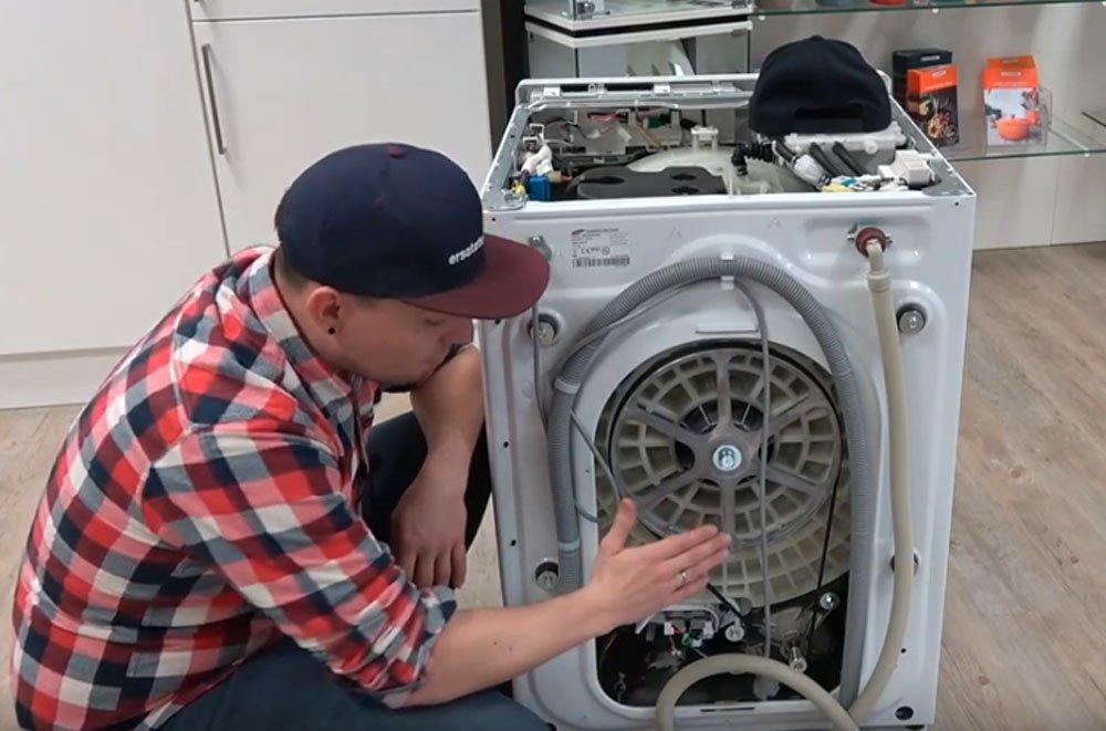 Waschmaschine Antriebsriemen