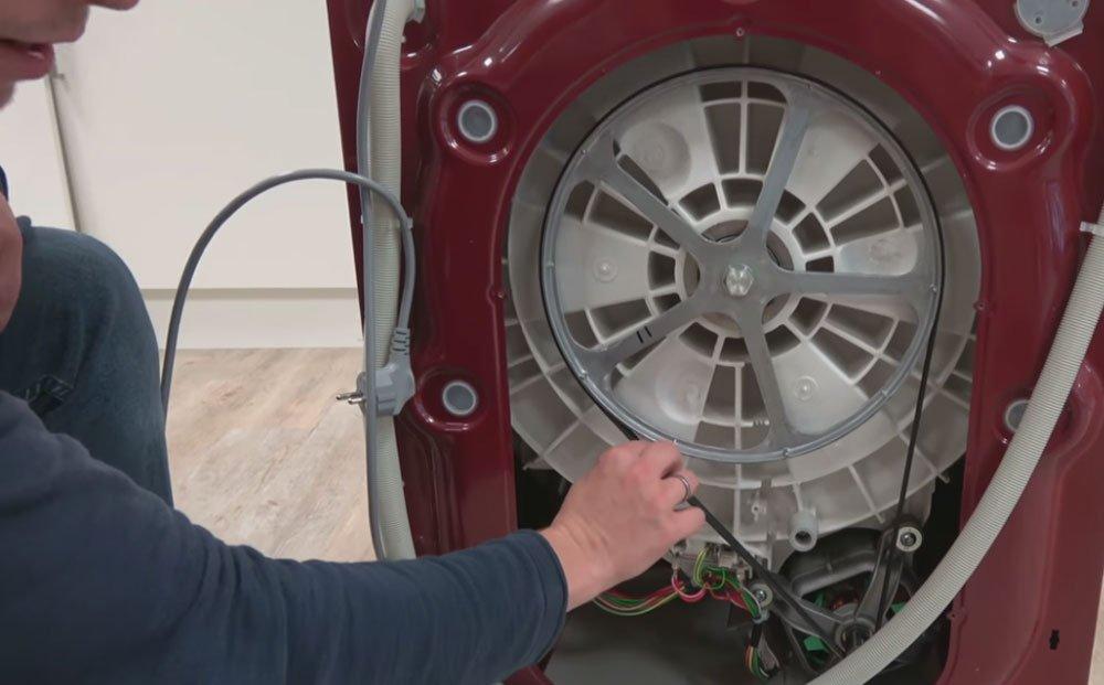 Waschmaschine Riemenscheibe