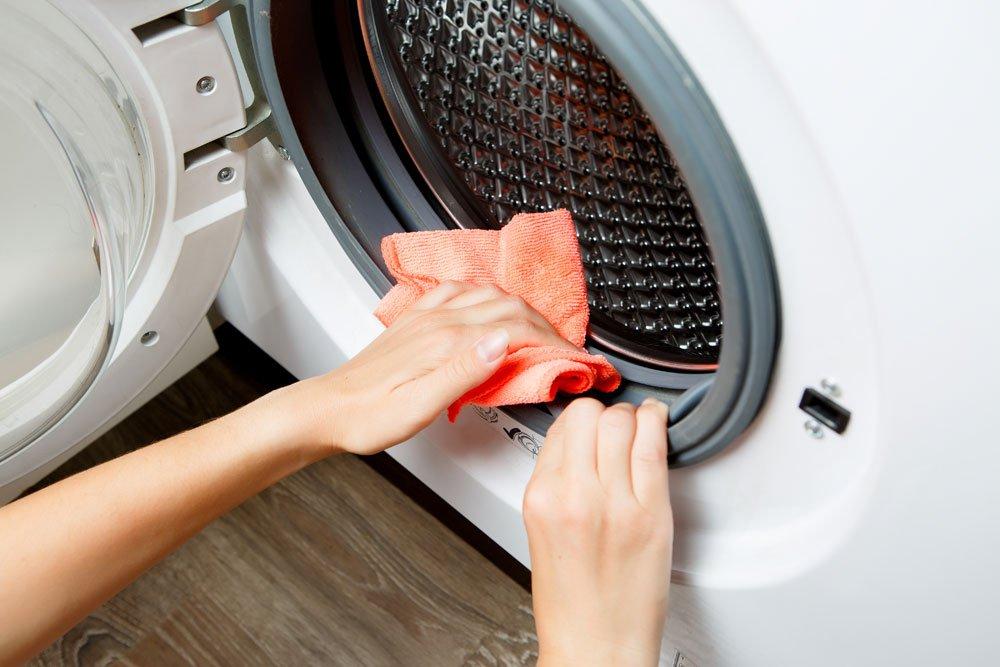 Waschmaschine Türgummi reinigen