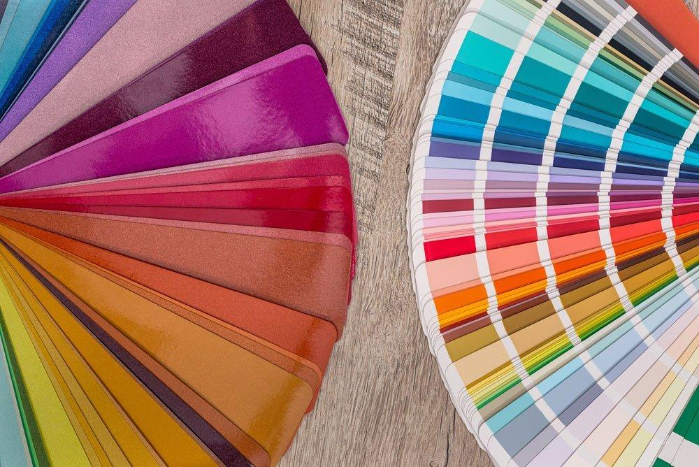 Wohnung - passende Farben - Wirkung