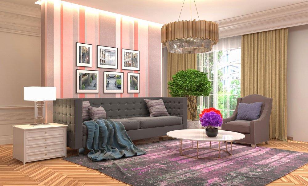 Wirkung von Farben auf die Wohnung 1