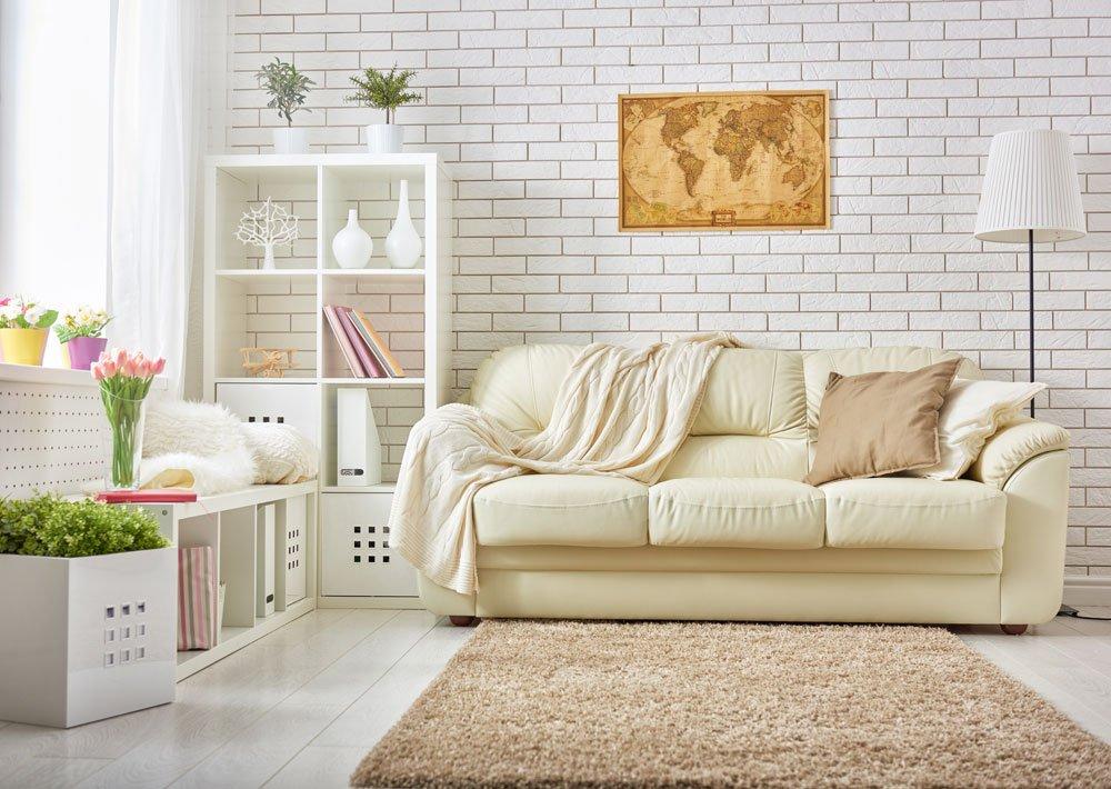 Zimmer kühlen: helle Farben
