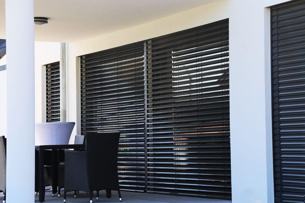 Zimmer kühlen durch Sonnenschutz