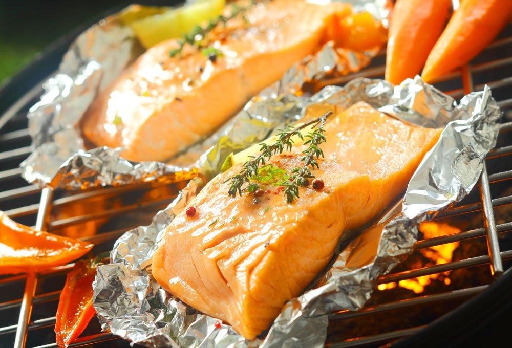 Zubehör zum Fisch grillen